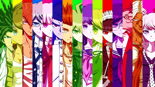 File:Dangaronpa - The Animation - OP Characters.png