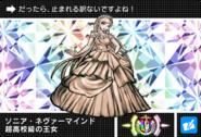 Danganronpa V3 Bonus Mode Card Sonia Nevermind U JPN