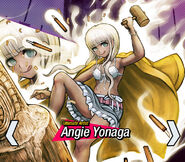 Angie Yonaga Danganronpa V3 Official English Website Profile (Mobile)