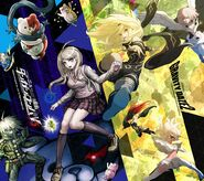 Digital MonoMono Machine New Danganronpa V3 x Gravity Daze 2 Android wallpaper