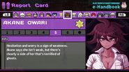 Akane Owari Report Card Page 5