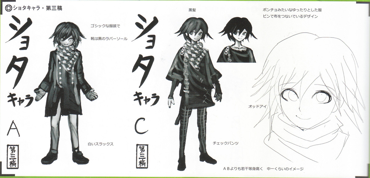 File Art Book Scan Danganronpa V3 Character Designs Betas Kokichi Oma  3 likewise New er Ashley Origin Warioware Touched For also Pokemon Keyboard Stickers likewise File Ruruka dead besides Chiaki Nanami 27s Punishment. on anime trophies