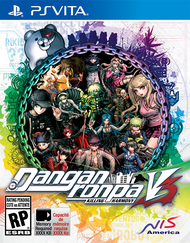 Danganronpa V3 English Box Art PS Vita