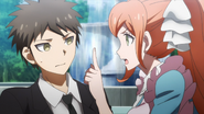 Chisa scolds Hajime