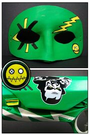 Leather fun ghoul mask by maskedzone-d3c9dbb
