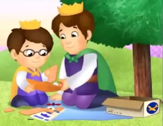 File:Prince Wednesday and Prince Tuesday assembling an airplane.jpg