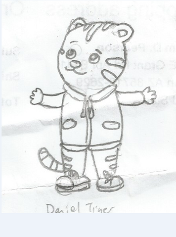 File:Daniel Tiger (First Drawing Ever).png