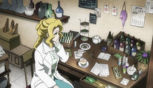 Fiona's desk