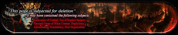 Deletion notice