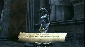 Beatrice Statues