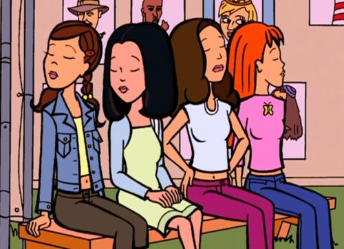 File:Daria Fashion Club - Stacy, Tiffany, Sandi, Quinn.png