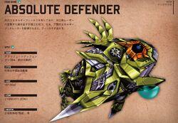 Absolute defender