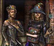 Goddess godmother statues