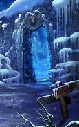 Sq snow kingdom door