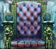 Boy audon throne