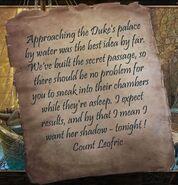 Count Leofric's Letter