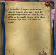 QOS Hubert's Diary Second Page