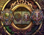 Floralia gate lock