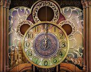 Ballroom clock lock