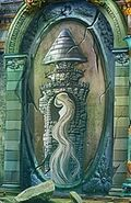 Fresco of rapunzel