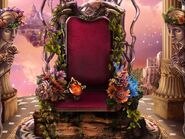 Rosaria throne