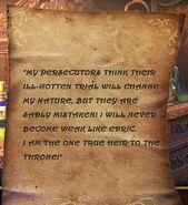 TT&TTB Rasputin's Letter