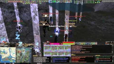 DAoC Warden PoV 2 Bg peel dps heal warden