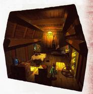 Wooden House (Interior)