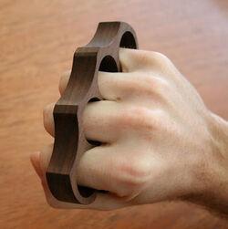 Wooden Knuckles 2
