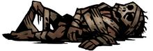 Mummified remains