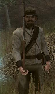 Confederate Troop