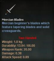 Mercian Blades