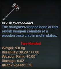 Orkish Warhammer