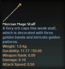 Mercian Mage Staff