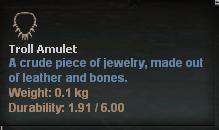 Troll Amulet