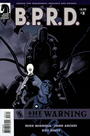 BPRD The Warning Vol 1 3