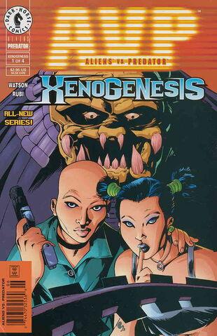 File:Aliens vs. Predator Xenogenesis Vol 1 1.jpg