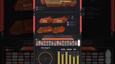 Ferrous Corp shuttle schematics