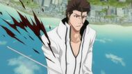 Aizen is cut