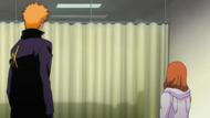 Ichigo and Orihime vist Uryu