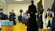 Soifon in Ichigo's room
