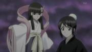 Momo and Tobiume prepare for battle