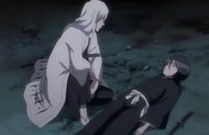 Ukitake with Rukia