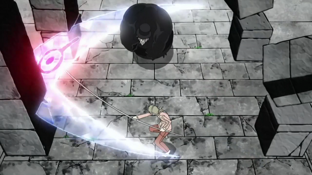 File:Maka uses Majin Hunter.png