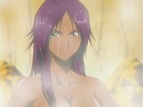 File:Yoruichi in hot spring.jpg