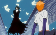 Zangetsu speaks to Ichigo
