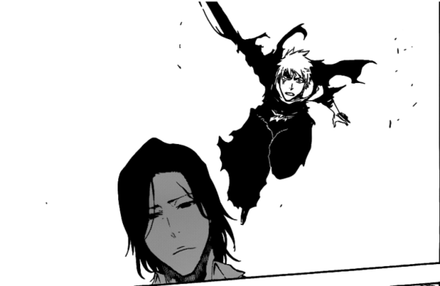 File:Ichigo attacks Tsukishima.png