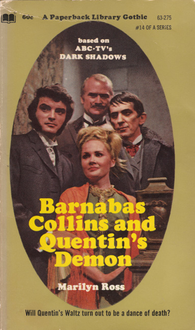 Barnabas collins and quentin 39 s demon the dark shadows for Quentin domon