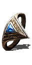 Ring Clear Bluestone Ring.png