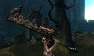 Capra demon sword